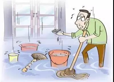 物业温馨提示:请正确使用下水管道
